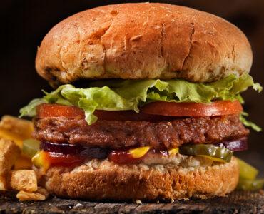 Tuscan Garden Veggie Burger